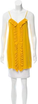 Tibi Sleeveless Silk Top