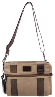 Tumi Canvas Messenger Bag