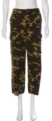 Proenza Schouler High-Rise Camouflage Pants