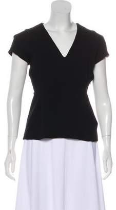 Marni Wool Short Sleeve Top