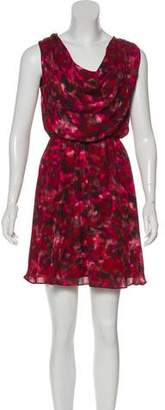 Alice + Olivia Silk Printed Dress