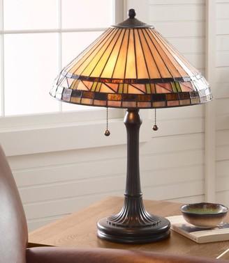 L.L. Bean L.L.Bean Bradbury Art Glass Table Lamp