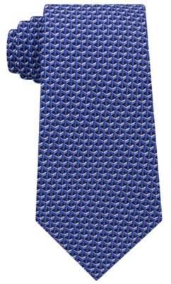 Michael Kors Men's Interlinked Geometric Silk Tie
