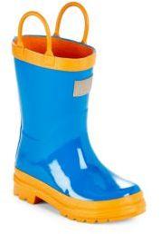 Unisex Colorblock Rain Boots $36 thestylecure.com