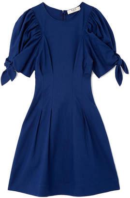 Sea Lennox Puff Sleeve Mini Dress