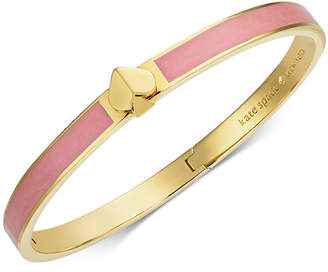 Kate Spade Gold-Tone & Colored Enamel Spade Bangle Bracelet