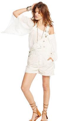Ralph Lauren Denim & Supply Rolled-Cuff Cotton Shortall $165 thestylecure.com