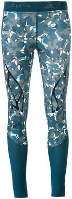adidas by Stella McCartney camouflage print leggings