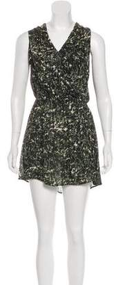 Joie Printed Silk Dress