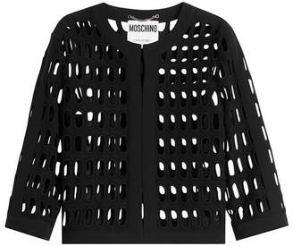 Moschino Cardigan with Cut-Out Detail