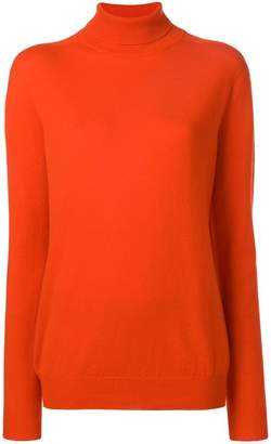 Jil Sander roll neck jumper