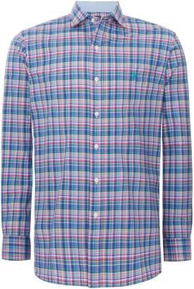 Polo Ralph Lauren Men's Custom Fit Poplin Checked Shirt