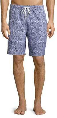 Peter Millar Paisley Swim Trunks, Navy $85 thestylecure.com