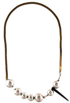 Gabriela Artigas Beaded Tusk Necklace