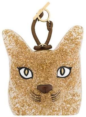 Loewe fox motif keyring
