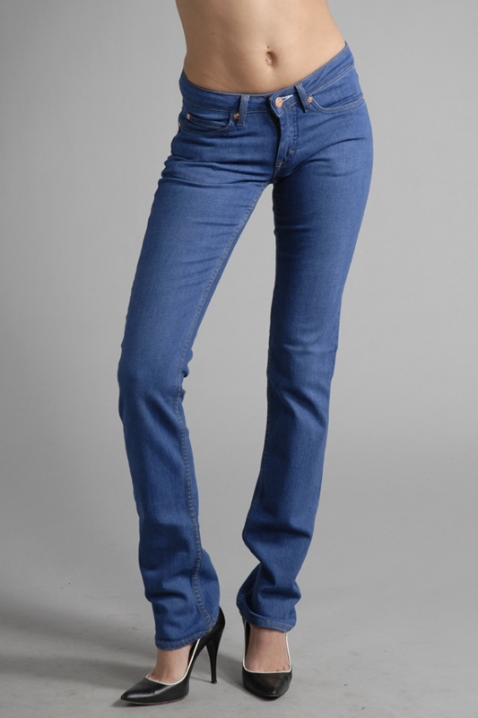 Acne Jeans Hep Skinny Jeans in Flash