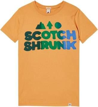 Scotch & Soda Colourful Logo T-Shirt