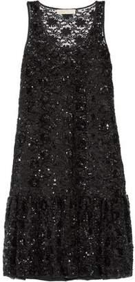 MICHAEL Michael Kors Sequin-Embellished Tulle Dress