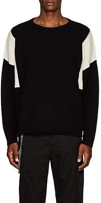 Chapter MEN'S STOCKINETTE-STITCHED WOOL SWEATER - BLACK SIZE XS