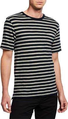 Vince Men's Short-Sleeve Stripe T-Shirt