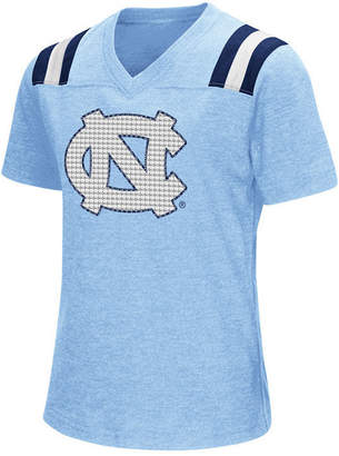 Colosseum Girls' North Carolina Tar Heels Rugby T-Shirt