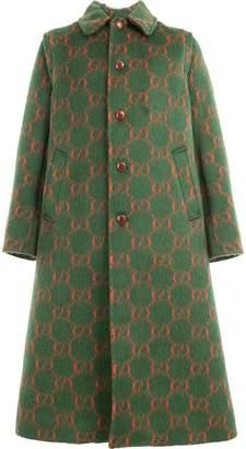 Gucci 534661Z566L 3127 YARD/RED/CAMEL viscose/Silk/Cotton/Lama Fur/Wool