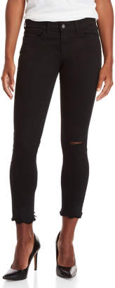 Buffalo David Bitton Black Faith Mid-Rise Skinny Jeans