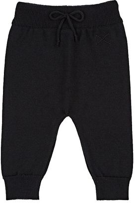 Mini Sibling Knit Cotton-Merino Wool Sweatpants