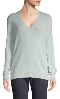 Theory Adrianna Cashmere V-Neck Sweater