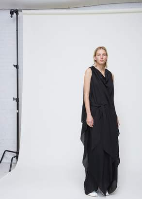 Maison Margiela Sleeveless Draped Dress