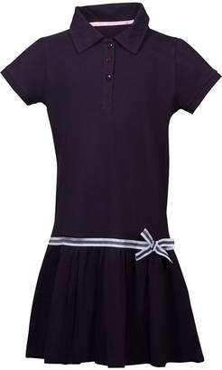 U.S. Polo Assn. USPA Short Sleeve Cap Sleeve Shirt Dress - Preschool Girls 4-6x