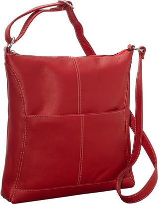 Le Donne Leather Easy-Slip Crossbody Shoulder Bag
