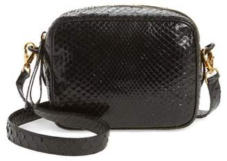 Nancy Gonzalez Genuine Python Shoulder Bag