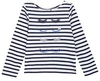 3 Pommes Girl's 3L10104 T-Shirt,5-6 Years