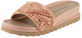 Donald J Pliner Cava Ornamented Slide Sandals