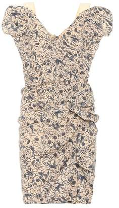 Etoile Isabel Marant Isabel Marant, Étoile Topaz printed linen dress