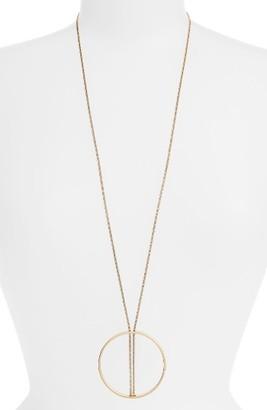 Women's Jenny Bird Halo Pendant Necklace $125 thestylecure.com