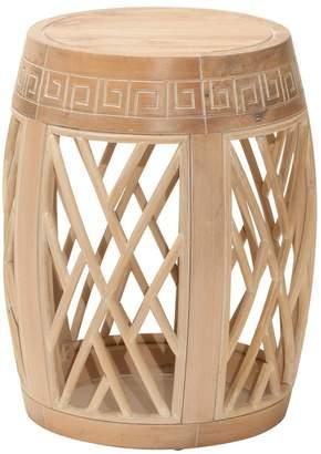 Osp Designs OSP Designs Wood Drum Table