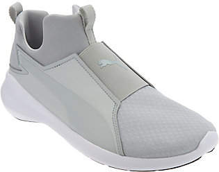 Puma Mesh Slip-On Training Sneakers - Rebel Mid