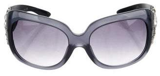 Bvlgari Embellished Tinted Sunglasses