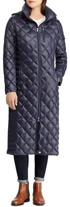 Ralph Lauren Diamond Quilted Down Coat