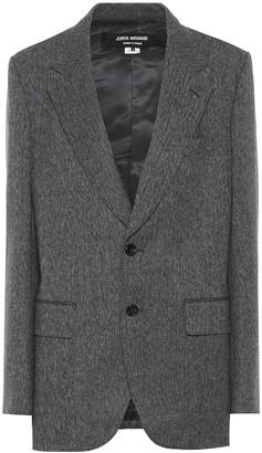 Junya Watanabe Wool herringbone blazer