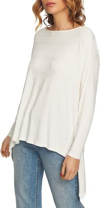 1 STATE 1.STATE Ribbed Tunic Top