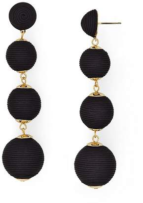 AQUA Margot Ball Drop Earrings - 100% Exclusive $25 thestylecure.com