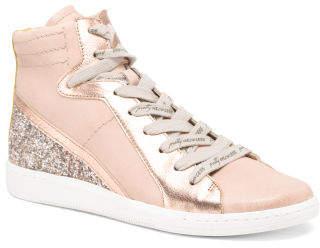 Hightop Suede Sneakers