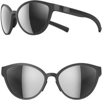 665ec85d0b ... adidas Tempest 3DX 56mm Mirrored Cat Eye Running Sunglasses