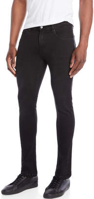 Cheap Monday Black Tight Mid-Rise Slim-Fit Jeans