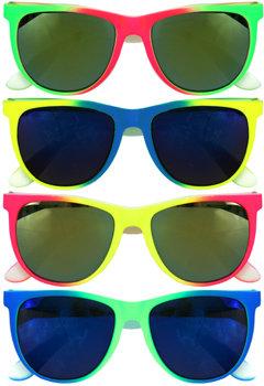 Neon Flare Sunglasses