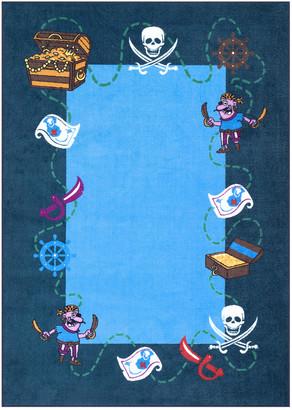 nuLoom Pirate Playtime Rug