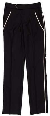 Marc Jacobs Wool Tuxedo Pants